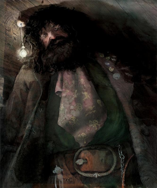 Rúbeo Hagrid.